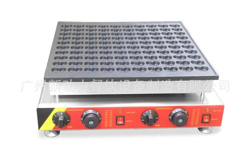 100孔心形小松饼机,心形铜锣烧机蛋糕机华夫机商用电热小松饼机