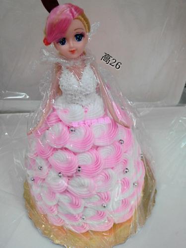 芭比娃娃蛋糕模型仿真蛋糕模型塑胶蛋糕模型蛋糕模型