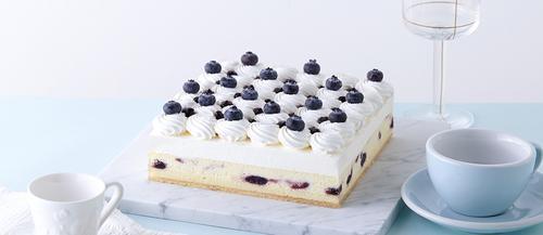 诺心lecake 雪域蓝莓芝士蛋糕