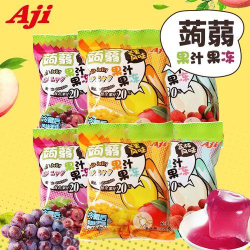 aji蒟蒻果冻零食休闲办公室低脂肪热量魔芋女生果汁