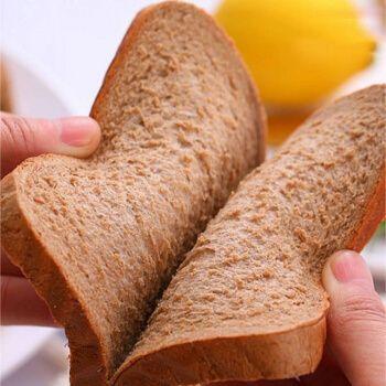 【现货速发】面包片切片早餐无糖脱脂粗粮吐司黑麦代餐面包 6袋试吃装
