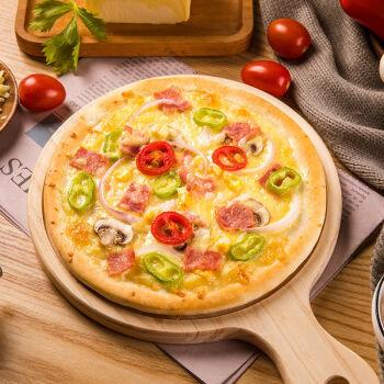 焙之林披萨饼底6寸8寸半成品薄饼披萨材料家用烘焙原料 【6英寸】披萨