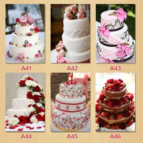 面包店蛋糕店婚庆蛋糕装饰画点心面包房商业装饰挂画