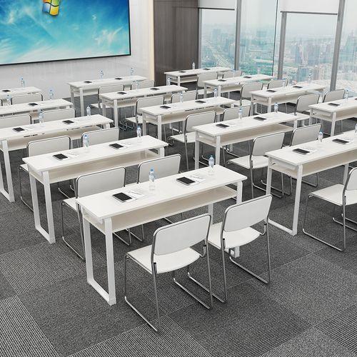 教育机构学生培训桌椅组合课桌椅双人位培训桌补习班辅导班学习桌