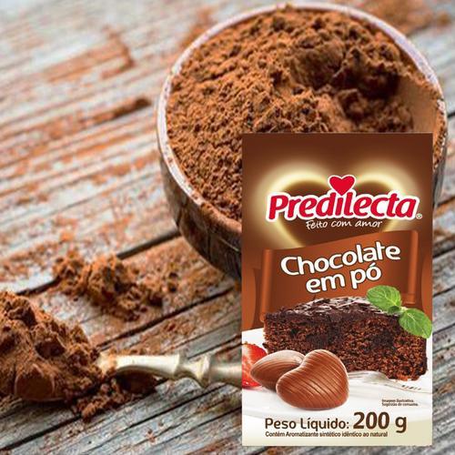 chocolate em po 进口巧克力可可粉糕点蛋糕烘焙材料