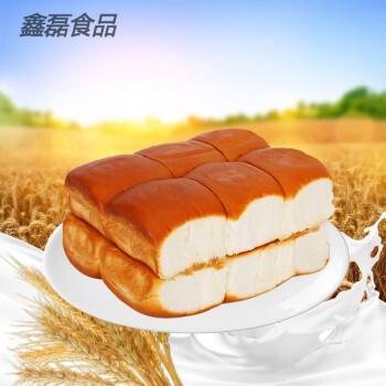 老面包手撕面包300克上班早餐点心零食蛋糕原味面包 2