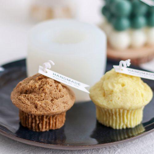 美沐儿 马芬杯蛋糕创意diy香薰蜡烛仿蛋糕甜点烘培
