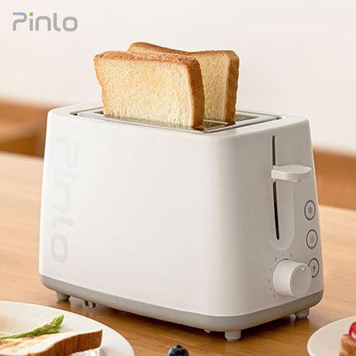 机家用多功能多士炉6档烘烤不锈钢内胆吐司加热机 烤面包机pl-t075w1h