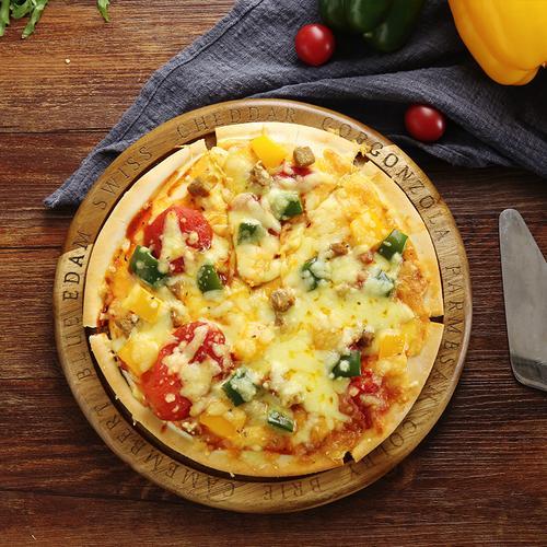 意式披萨饼闪味披萨胚7寸60个/箱 披萨底面饼皮