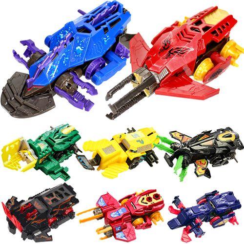 男孩炫斗战轮儿童玩具爆暴力炎龙战刃激斗战车机器人
