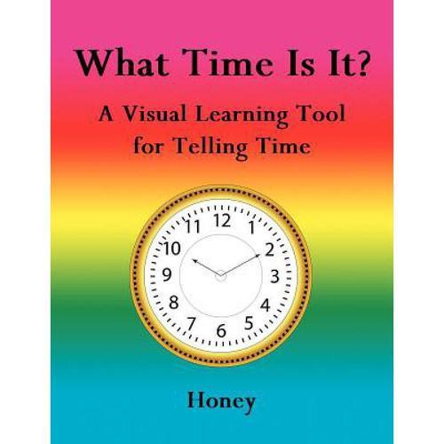 预订 what time is it?: a visual learning tool for