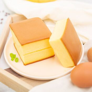 【新鲜直发】蛋糕面包甜品纯蛋糕西式糕点点心鸡蛋面包零食整箱 半斤