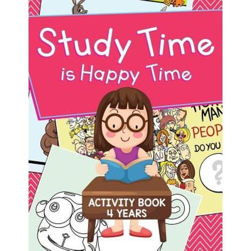 预订 study time is happy time: activity book 4