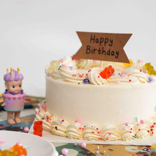 ugly bread x le'ban 彩虹蛋糕 rainbow cake【甜蜜