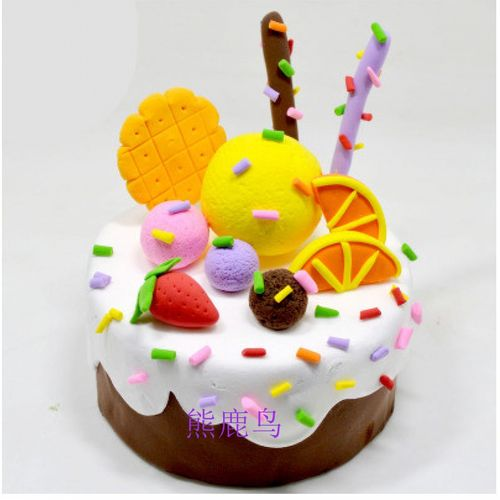 蛋糕泡沫模具超轻粘土配件diy彩泥工具套装手工制作橡皮泥幼儿园