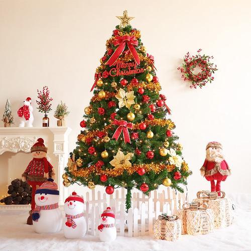 1.8米圣诞树豪华组合套餐2.1/2.4/3米圣诞节大型商场