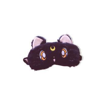 蚁族(yizu) 美少女战士猫咪眼罩卡通可爱透气遮光少女