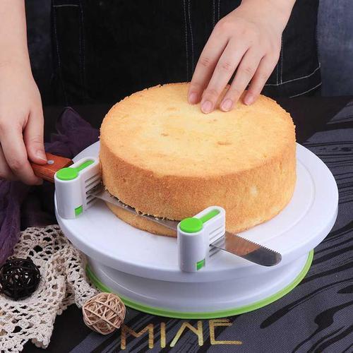 蛋糕转盘抹面裱花转台专业做生日蛋糕工具套装全套