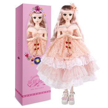 60厘米大号超大篱芭比比洋娃娃套装仿真精致女孩公主玩具礼盒单个
