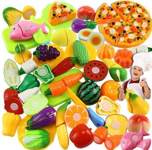 儿童切水果女孩玩具蛋糕厨房套装宝宝过家家生日礼物