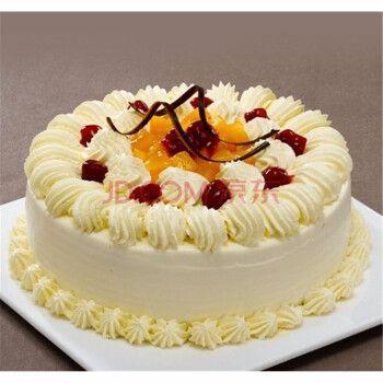 (企业定制)京觅 小吃 奶油蛋糕 16寸(直径40cm)