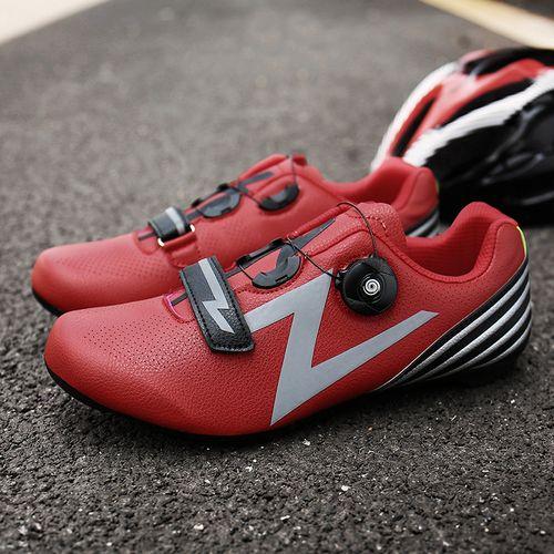 山地助力鞋有鞋底鞋单车运动车行公路男女锁硬休闲自行秋车骑车款