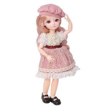 芭比娃娃儿童玩具女孩生日礼物换装套装大礼盒bjd巴比小号洋娃娃仿真2