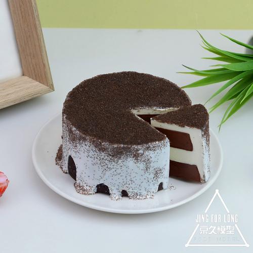 仿真蛋糕模型甜品四寸巧克力慕斯咖啡店展示假样品摄影道具可定制