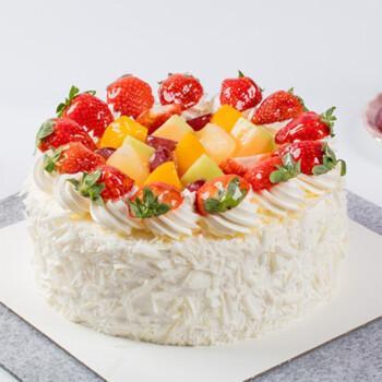 水果蛋糕b款 6英寸(适合1-2人)食用