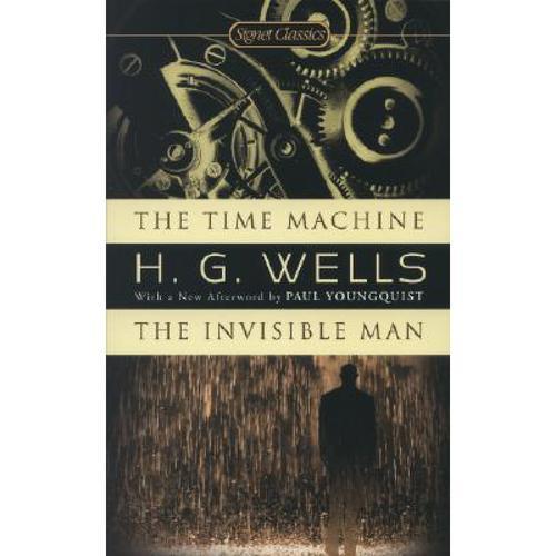 时间机器 隐形人 英文原版名著time machine the invisible man