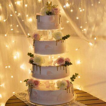 食锦谣生日蛋糕多层祝寿婚礼开业庆典派对双层水果定制全国上海