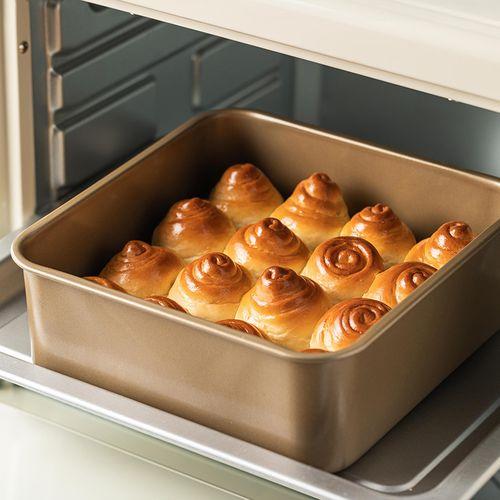 美涤正方形面包模具家用 加高8cm不沾加深蛋糕烤盘烤箱用烘焙工具