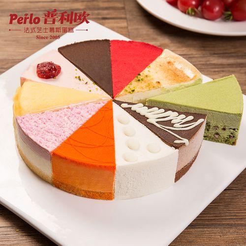 网红蛋糕盒子芝士慕斯切块蛋糕 8英寸提拉米苏甜品生日下午茶