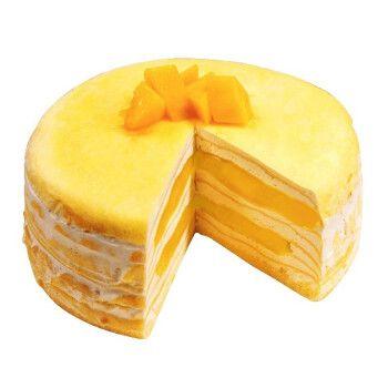 芙瑞多 芒果千层蛋糕新鲜制作 生日蛋糕同城配送蛋糕预定儿童祝寿当日