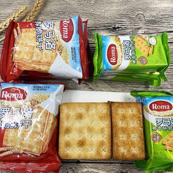 罗马洛椰香酥脆饼干500g【约27包