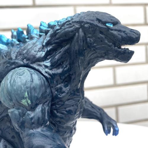 新哥斯拉怪兽行星惑星怪兽之大号玩具模型破坏之