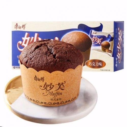 【】妙芙欧式蛋糕96克2枚装巧克力奶油香芋牛奶味蛋糕