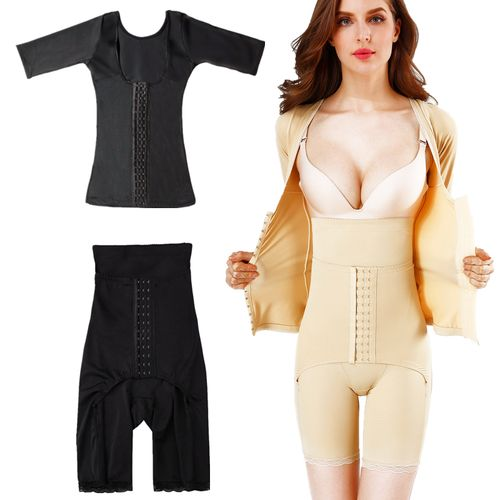 婷美婼雅分体塑身衣两件套魅力加强紧身收腹束腰大码