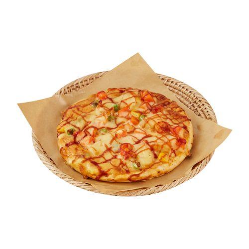 【当天现烤】好麦 迷你麻辣小龙虾披萨 90g/只