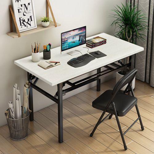 家用折叠桌子长条桌会议桌餐桌办公桌培训桌学生宿舍课桌电脑桌