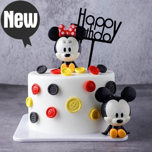 米老鼠生日蛋糕模型仿真2021新款网a红塑胶假蛋糕样品