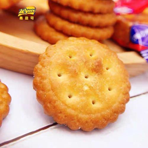 藤野一村小圆饼248g袋装 网红日式韧性海盐小饼干早餐