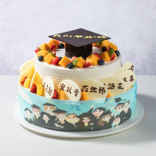 前程似锦蛋糕(渭南)