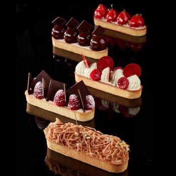 卡莱恩(kalaien)法式甜点金砖蛋糕奶油慕斯泡芙硅胶模具 家用烘焙糕点