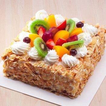 生日蛋糕预定送女朋友水果巧克力儿童蛋糕双层定制上海广州深圳