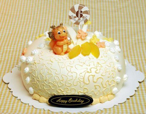 儿童派对用品生日蜡烛创意蛋糕装饰龙生肖寿星蛋糕蜡烛小礼物