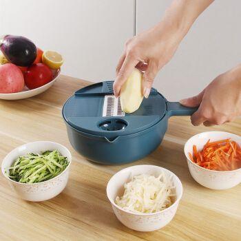 极度空间 多功能切菜器刨丝器家用厨房切菜神器手动土豆丝黄瓜萝卜切