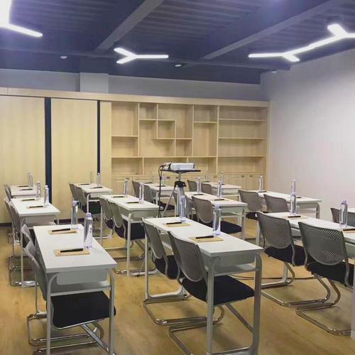 长条学生学校拼课桌组合双人辅导班机构会议桌洽谈培训桌椅桌桌
