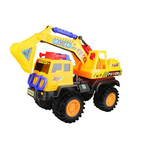 超大号工程车玩具套装儿童滑行玩具车挖掘机卡车搅拌
