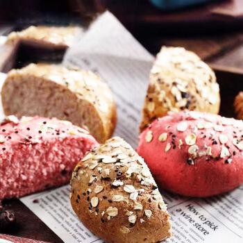 超低脂黑麦全麦面包欧包无蔗糖粗粮代餐早餐食品整箱批发休闲零食